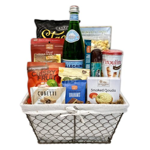 Champagne Life - Gourmet Goodies Gift Basket