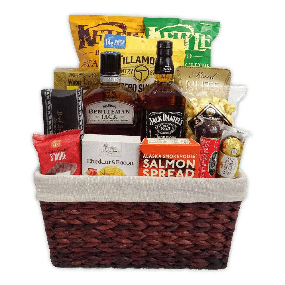 Champagne Life - Father's Day Whiskey Gift Basket