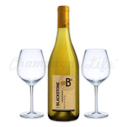 Champagne Life - Blackstone Chardonnay Wine Toast Set