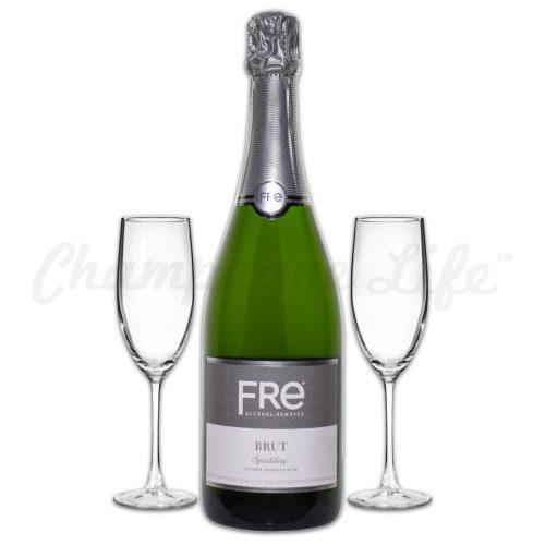Champagne Life - Fre Sparkling Brut Toast Set