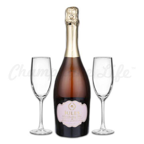 Champagne Life - Jules Sparkling Rose Toast Set