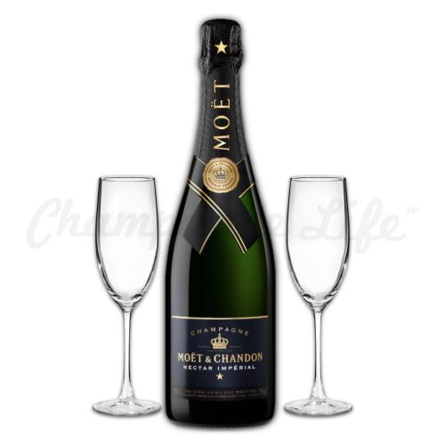Champagne Life - Moet & Chandon Nectar Imperial Brut Toast Set