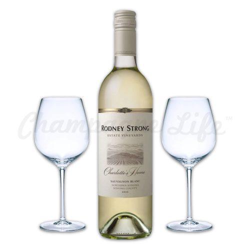 Champagne Life - Rodney Strong Sauvignon Blanc Wine Toast Set