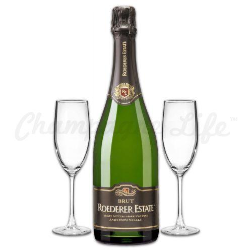 Champagne Life - Roederer Estate Brut Toast Set