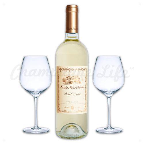 Champagne Life - Santa Margherita Pinot Gringo Wine Toast Set