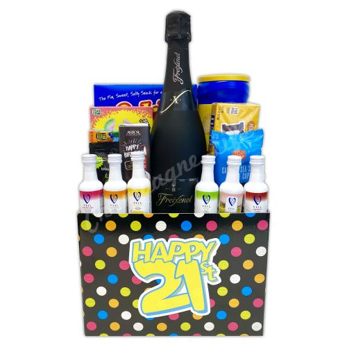 Champagne Life - 21st Birthday Basket