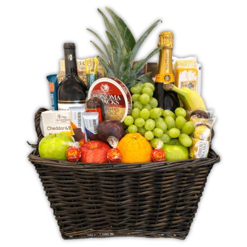 Gourmet Champagne & Wine Basket