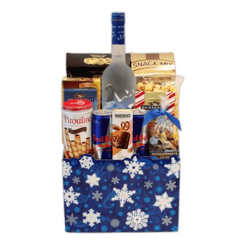 Grey Goose Christmas Basket