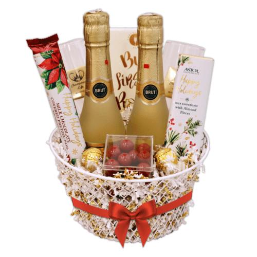 Holiday Toast Gift Basket