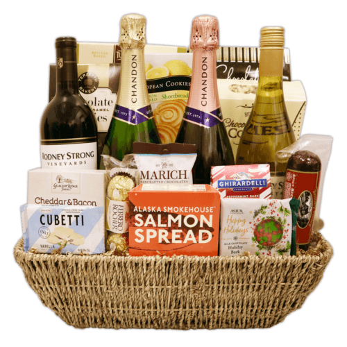 Santa's Celebration Gift Basket