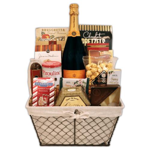 Veuve Holiday Gift Basket
