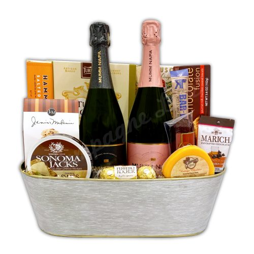 Champagne Life - Mumm Napa Gift Basket