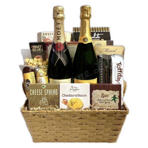 Champagne Life - Veuve & Moët Gift Basket