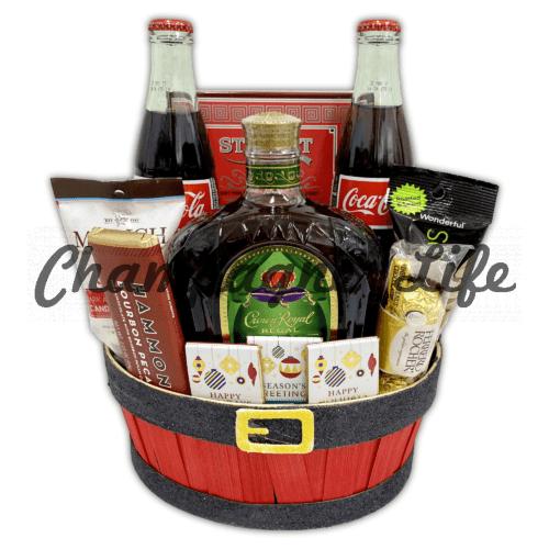 Crown Royal Regal Apple Basket