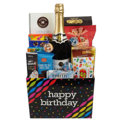 Birthday Bubbles Gift Basket