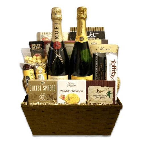 Veuve & Moet Gift Basket