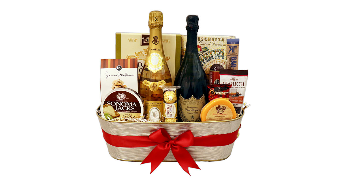 21st Birthday Gifts Champagne Life Gift Baskets