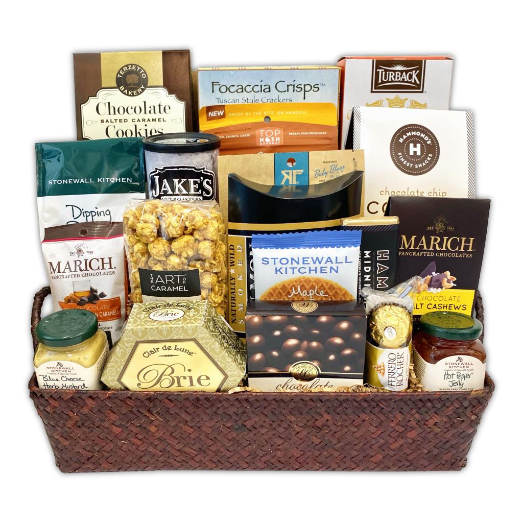 Champagne Life - Gourmet Snacks Gift Basket