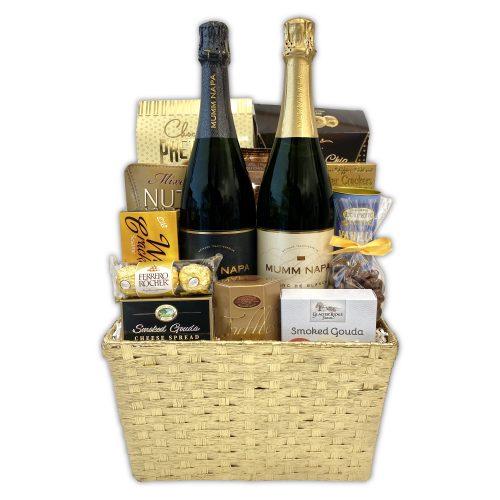 Gold Celebration Gift Basket