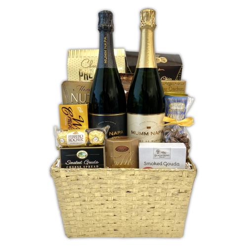 Gold Celebration Gift Basket