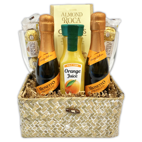 Mimosa Moments Gift Basket
