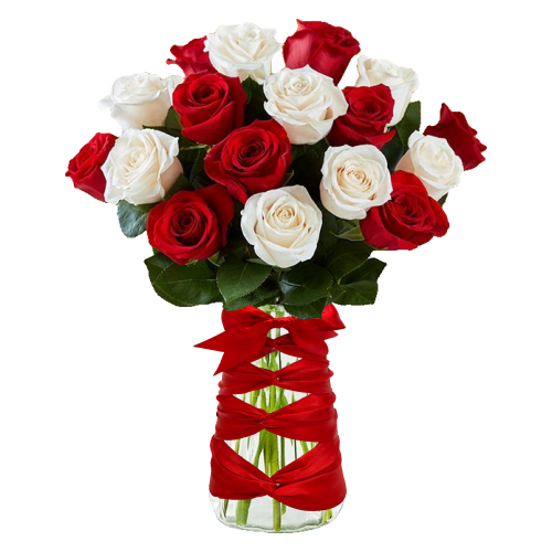 Champagne Life - Deluxe Rose Bouquet