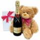 Champagne & Teddy Bear