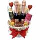 Valentine's Day Toast Basket
