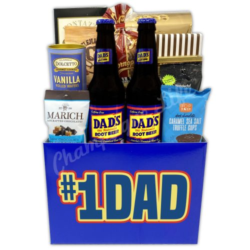 Champagne Life - Dad's Root Beer Gift Basket