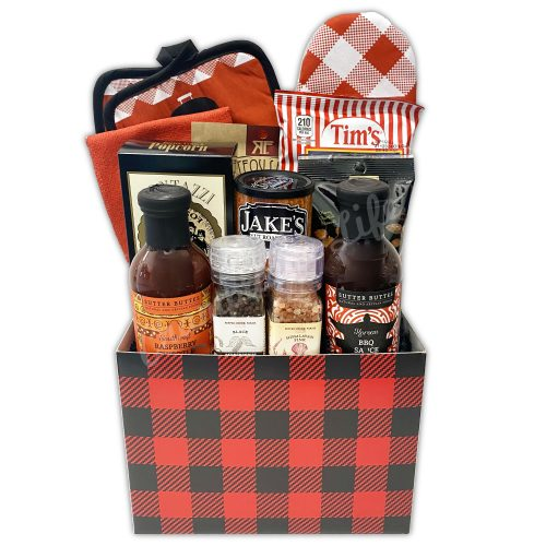 Champagne Life - Grill Master Gift Basket
