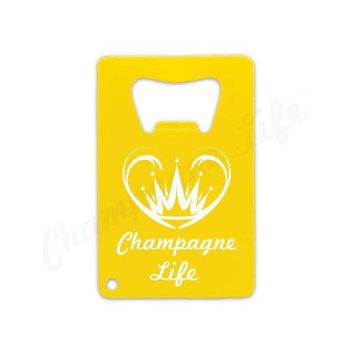 Champagne Life - Beer Bottle Opener