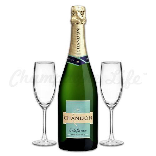 Champagne Life - Chandon Sweet Star Toast Set