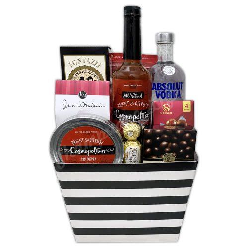 Champagne Life - Cosmopolitan Gift Basket