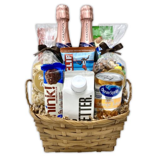 Champagne Life - Bubbles for Breakfast Gift Basket