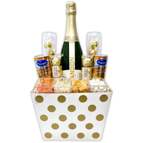 Champagne Life - Champagne Mimosa Gift Basket