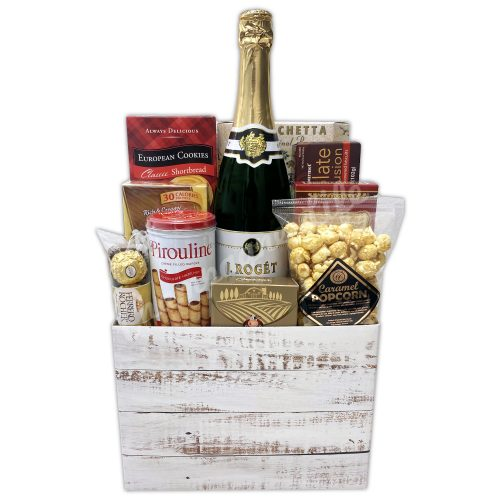 Champagne Life- Classic Champagne Gift Basket
