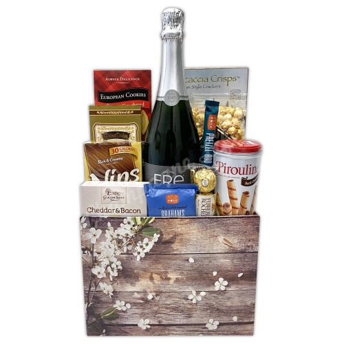 Champagne Life - Fre Non-Alcoholic Gift Basket