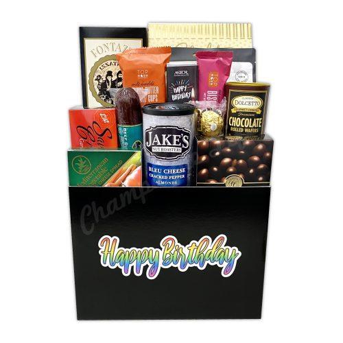 Champagne Life - Birthday Gourmet Gift Basket