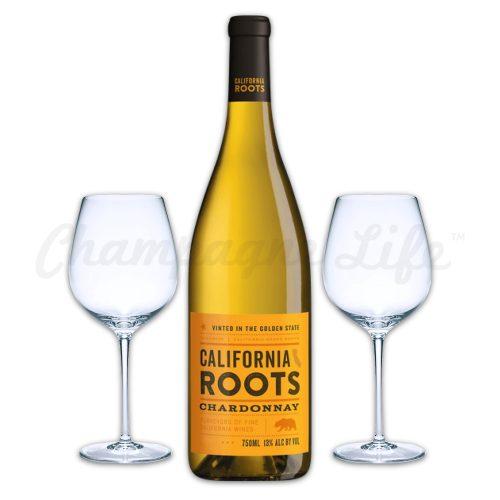Champagne Life - California Roots Chardonnay Toast Set
