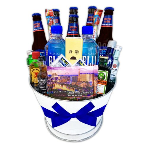 Champagne Life - Deluxe Bachelor Party Basket