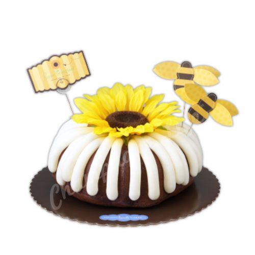 Champagne Life - Flower Power Cake