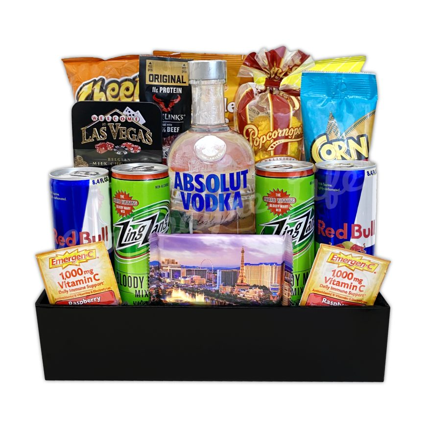 Champagne Life - Guys Night Out Gift Basket