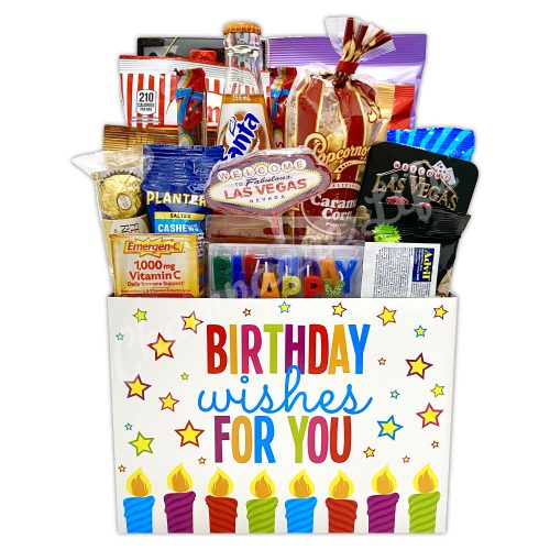 Champagne Life - Las Vegas Birthday Gift Basket