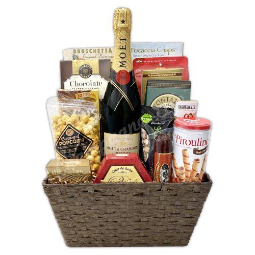 Champagne Life - Moët Gourmet Gift Basket