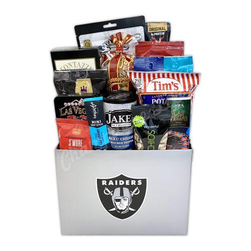 Champagne Life - Raiders Snack Gift Basket